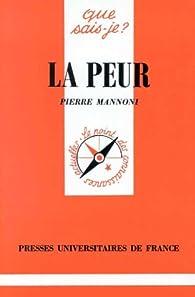 La peur par Pierre Mannoni