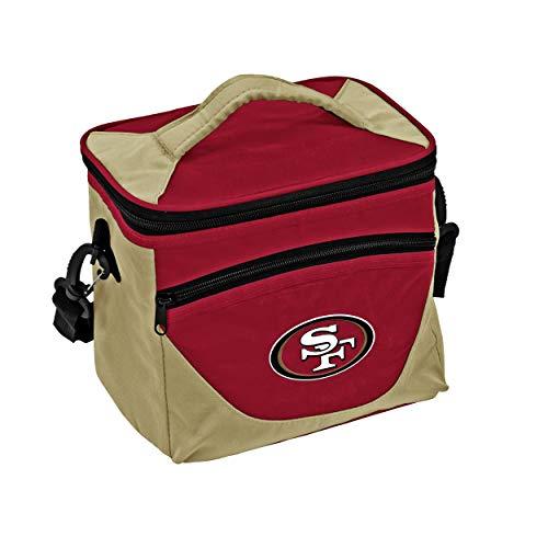 Logo Brands NFL San Francisco 49ers Halftime Lunch Cooler, One Size, Black