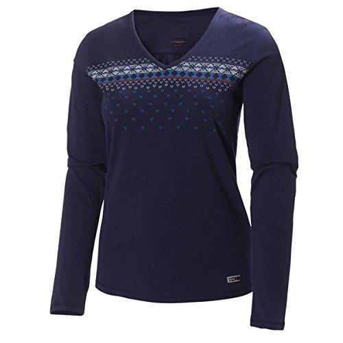 Helly Hansen 2014/15 Women's Mountain Long Sleeve Jersey Sweater - 51666 (Nordic Purple - L) Size Large