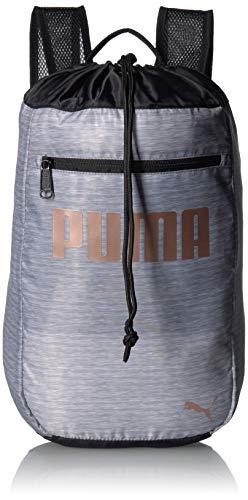 PUMA Girls' Big Evercat All Star Carrysack, Gray/black, Youth Size