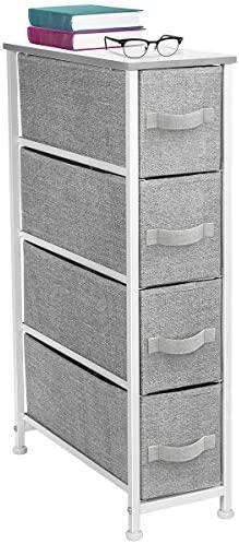 Sorbus Narrow Dresser Tower Drawers