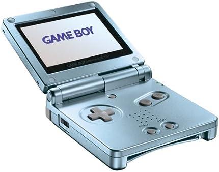 Amazon.com: Game Boy Advance SP Pearl Blue: Artist Not ...