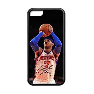 Customized iPhone Case Carmelo Anthony NBA Super Star New York Knicks Printed Laser iPhone 5C Case Cover