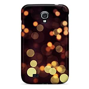 Tpu Fashionable Design Light Dots Rugged Case Cover For Galaxy S4 New