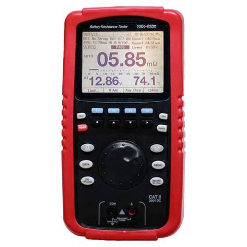 (Storage Battery Systems SBS-6500 Datalogging Digital Battery Resistance Tester, 1 megaohm to 400 ohm)