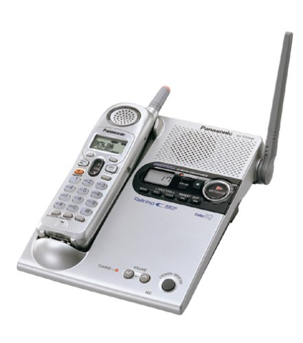 Panasonic KX-TG2346S 2.4 GHz DSS Cordless Phone with Talking Caller ID (Voice Announce Talking Caller Id)