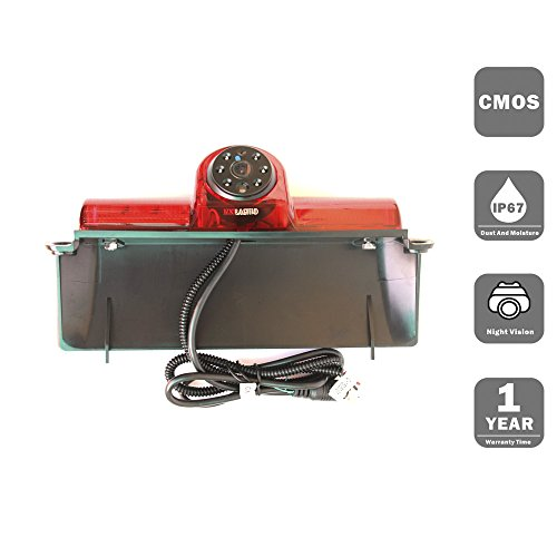 KNRAGHO Chevrolet Camera,Third Brake Light Placement Camera for Chevrolet Express GMC Savana Cargo Van (Without Monitor)