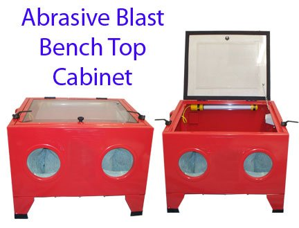 Abrasive Sandblaster Cabinet With Light by Generic