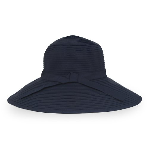 Sunday Afternoons Womens Beach Hat, Navy, One size