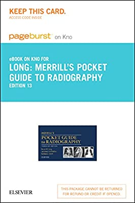 Merrill's Pocket Guide to Radiography - Elsevier eBook on Intel Education Study (Retail Access Card), 13e