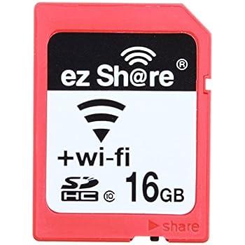 Amazon com: Ez Share Wifi Sd Memory Card 32 GB Class 10 2nd
