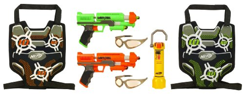 Nerf Dart Tag Capture the Flag Set - Green/Orange by Hasbro