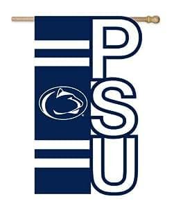NCAA Penn State Nittany leones cut-out Applique bandera de Jardín–azul marino