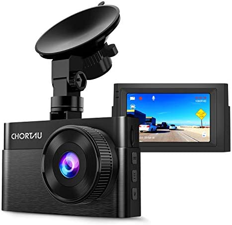Dash Cam for Cars 1080P FHD CHORTAU Dash Camera for Cars 3 inch Dashcam with Super Night Vision, 170 Wide Angle, Parking Monitor, Loop Recording