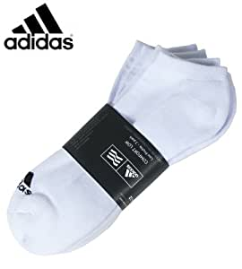 Adidas 2014 Men's Comfort Low 3 pack Socks (White)