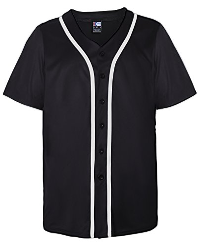 MOLPE Button Down Baseball Jersey (L, ()