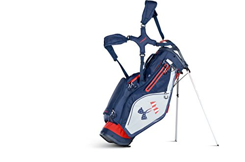 Under Armour Storm Match Play Stand Golf Bag (Red/White/Academy)