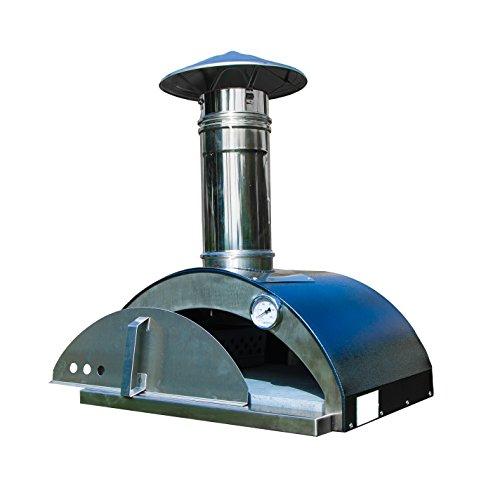 Nonno Lillo 24 in. W Wood-Fired Outdoor Pizza Oven in Graphite