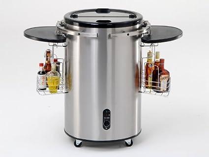Minibar Kühlschrank Edelstahl : Coobinox edelstahl k�hldose 58 l: amazon.de: elektro großgeräte