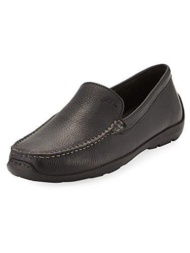 Tommy Bahama Heren Amalfi Lederen Instappers Loafer Zwart