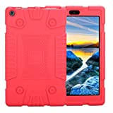 for Amazon Kindle,for iPad 9.7Hotin Universal Soft Silicone Rugged Cover[Kids Friendly] (Kindle Fire 7 2017/2016/, Sky Blue)