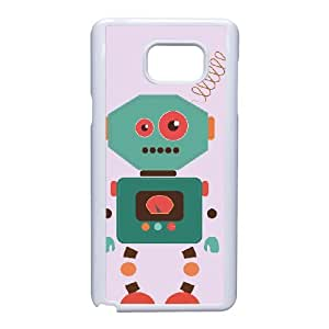 Fanny Robot Pattern Phone Case - Perfectly Match To Samsung Galaxy Note 5 - By Coco Nuts Cases