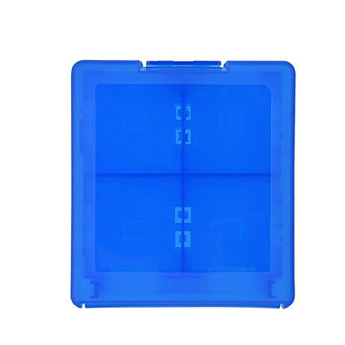 16 en 1 Titular de la Caja del Cartucho de Almacenamiento de Tarjetas de Juego de Plástico Duro Protector para Nintendo 3DS...