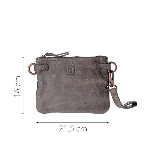 Dudu - Sac porté épaule - TImeless - Pochette - gris pierre - Femme