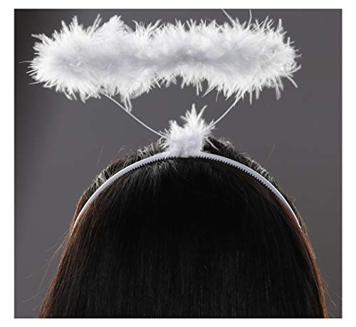 Angel Halo Headband Heavenly Halo Angel Costume Nativity Halo Christmas Accessories for Kids Girls Boys Adults