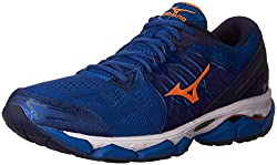 Mizuno Men's Wave Horizon Running Shoe, Royalorange, 10.5 D Us