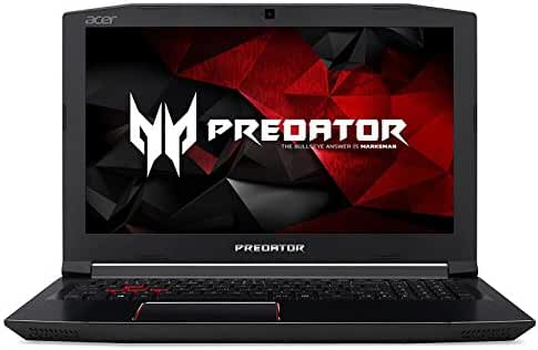 Acer Predator Helios 300 Gaming Laptop, Intel Core i7 CPU, GeForce GTX 1060 6GB, VR Ready, 15.6