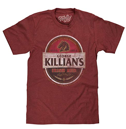 George Killian's Beer T-Shirt - Killians Irish Red Premium Lager Shirt (XXX-Large)