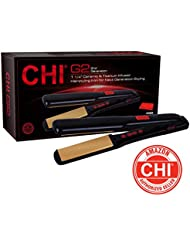 """CHI G2 Ceramic and Titanium 1 1/4"""" Straightening Hairstyling Iron"""
