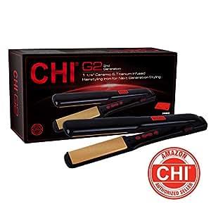 CHI G2 Ceramic and Titanium Hairstyling Iron, 1.25 Inch