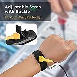 Vastar ESD Anti-Static Wrist Strap Components, Black