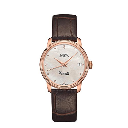 Mido Baroncelli Heritage Automatic Ladies Watch M027.207.36.106.00