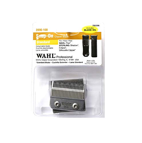 (Wahl Professional Snap-On Standard Clipper Blade - 2096-100 - Fits Wahl Professional Sterling Eclispe Clipper.)