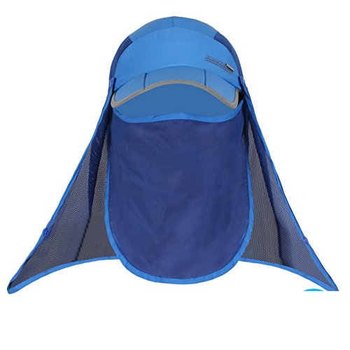 Outdoor Sun Hat/Man and woman fishing Cap/Summer sunhat/Mosquito-proof face-covering caps/Riding a scanning frequency caps/Hiking hats-F