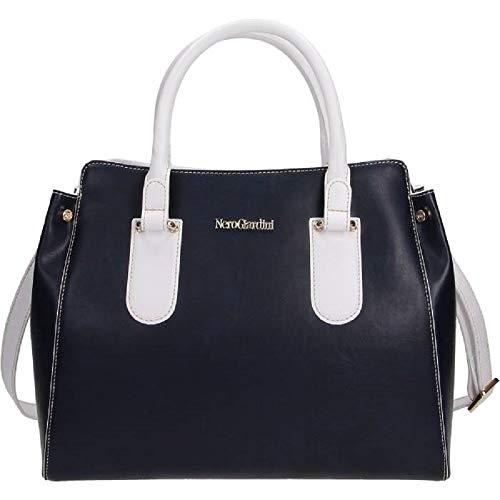 Zip P945032d Tracolla 200 Borsa Giardini Bag Shopping Donna Cerniera Blu Nero Zx8AwaSw