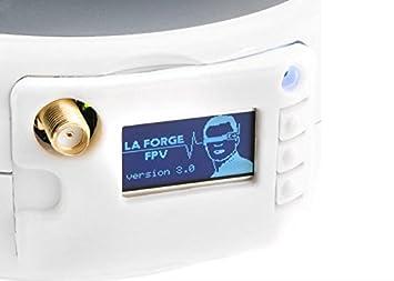 LaForge Pro FatShark RX 5.8Ghz Main Module V2 W/ Diversity Module W/ Screen