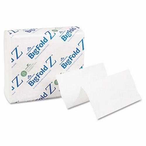 Towel Z-fold Bigfold (DSS Bigfold Z C-fold Paper Towels Jr, White, 10/260)