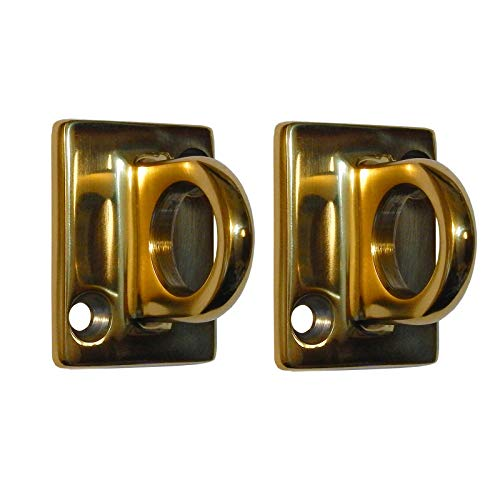 (Rope Stanchion Decorative Stainless Steel Wall Plate Holder, CROWD CONTROL CENTER (2 pcs Gold))