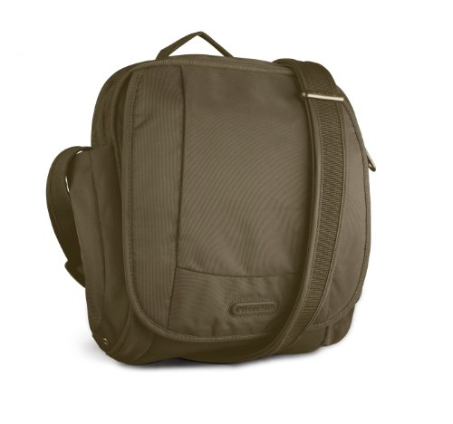 Price comparison product image Pacsafe Metrosafe 200 GII Shoulder Bag, Jungle Green