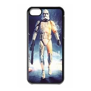 Stormtrooper Series, IPhone 5C Case, Star Wars Case for IPhone 5C [Black]