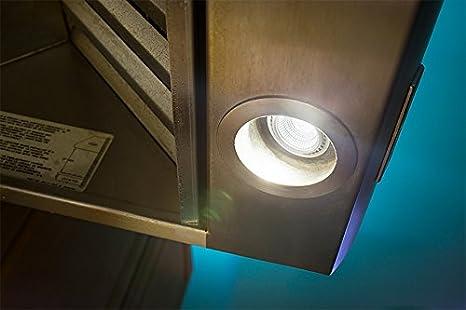 50W equivalent 120 Volt 550 lumen E26 CBconcept UL Listed PAR16 LED Bulb Pure White 6000K Flood Light Bulb CRI85+ 36 Degree Beam Angle Medium Base 6 Watt Patented Design 4Pack