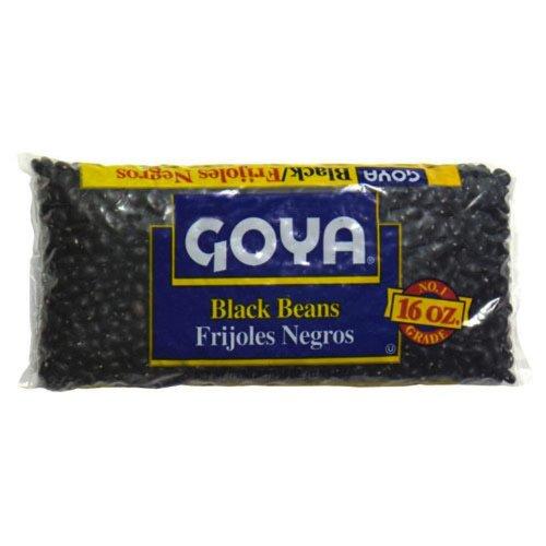 Goya Black Bean, 16-Ounce (Pack of 8) by Goya