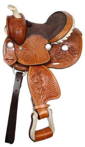"7"", 10"" or 12"" Miniature Horse / Sm Pony all leather saddle"
