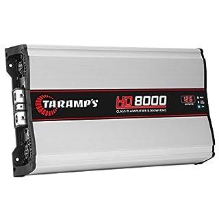 Taramps HD 8000.1 8000 Watts-Rms Car Amplifier Monoblock Full Range Class-D