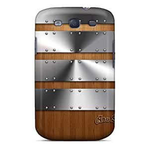 New Old Wood Tpu Case Cover, Anti-scratch OlkjeKJ4014dHWeU Phone Case For Galaxy S3