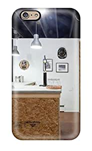 Tpu Case Cover For Iphone 6 Strong Protect Case - Industrial Style Home Bar Made From Plywood Design